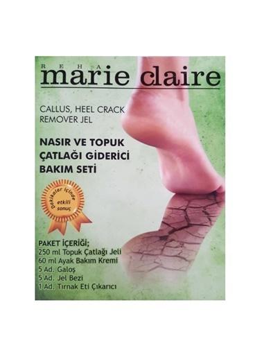 Marie Claire Marie Claire Nasır ve Topuk Çatlağı Giderici Bakım Seti Renksiz